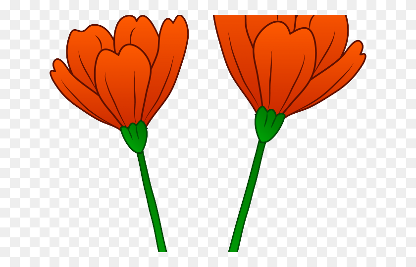Orange Flower Clipart Clip Art - Moana Flower Clipart