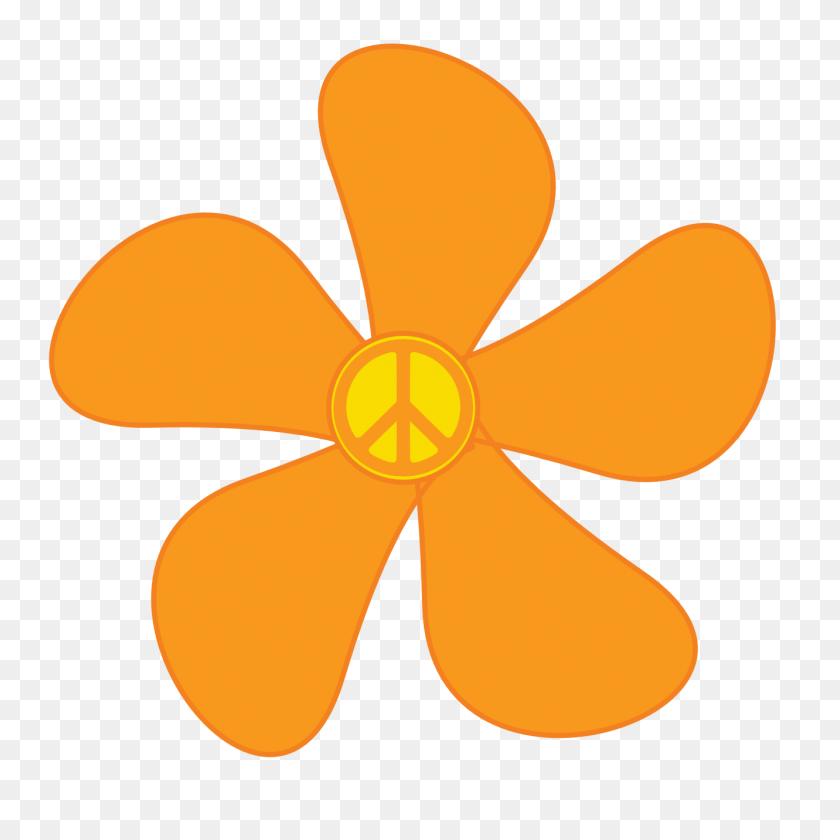 Orange Flower Clipart My Cute Graphic - Cute Flower Clipart