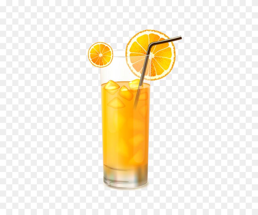 Orange Juice Glass Vector, Orange Juice, Glass Vector, Juice Glass - Orange Juice PNG