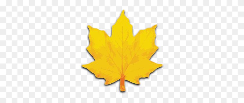 Orange Maple Leaf Clip Art - Maple Leaf Clipart