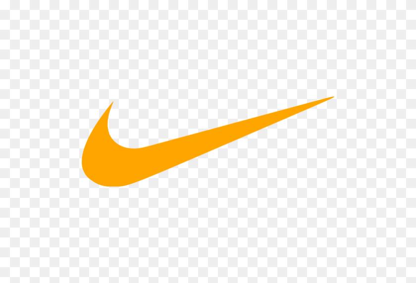 Orange Nike Logo Png, Nike Logos Download - Nike Logo PNG