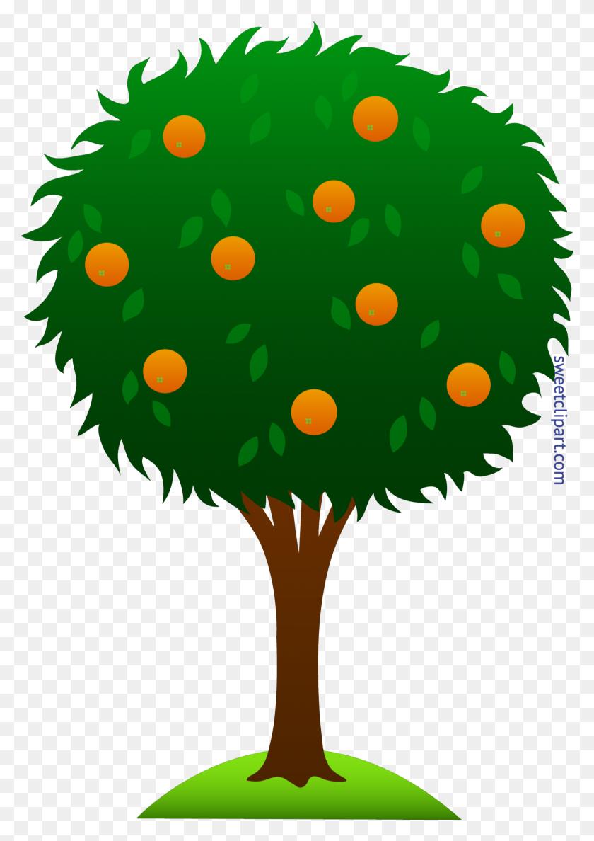 Orange Tree Clip Art - Science Fiction Clipart