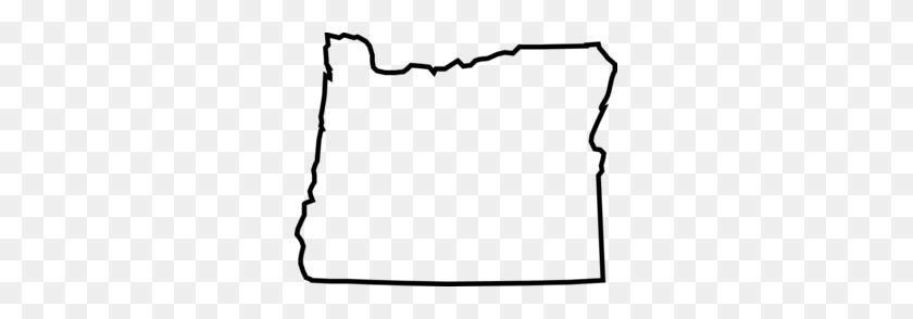 Oregon Outline Clip Art - State Outlines Clip Art
