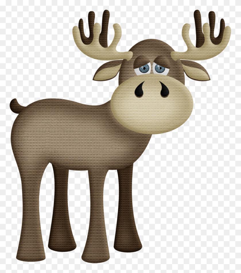 1042x1191 Orig Animal Clip Art - Moose Antlers Clipart