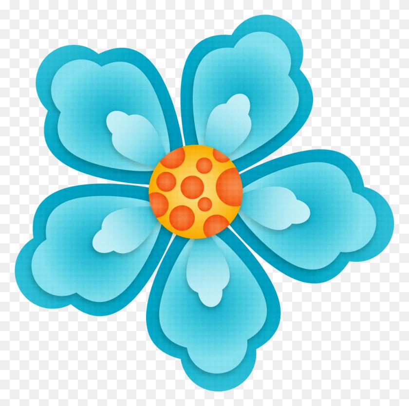 Orig Clip Art - Moana Flower Clipart