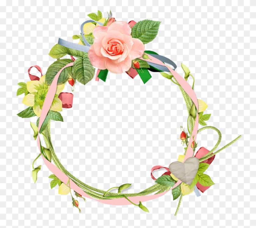 Orig Dekopaj Scrap - Flower Crown PNG