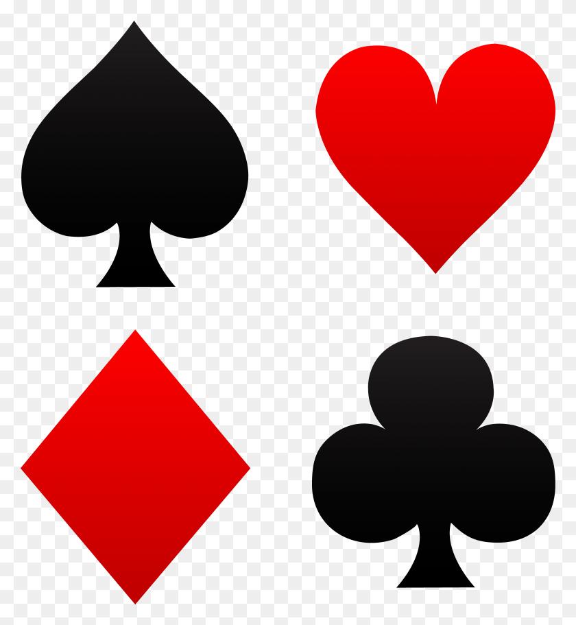 Ornamental Deck Of Spades - Queen Of Hearts Clipart