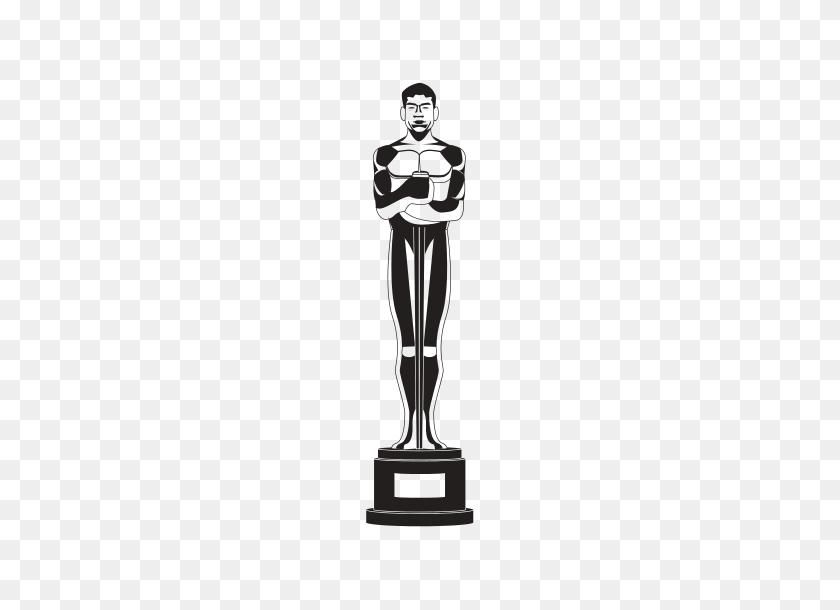 Oscar Silhouette Oscar Silhouette Movieweb Oscar De La - Oscar Statue PNG