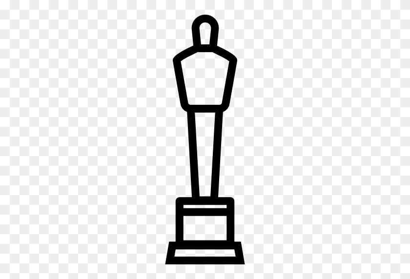 Oscar Statue - Oscar Award Clipart