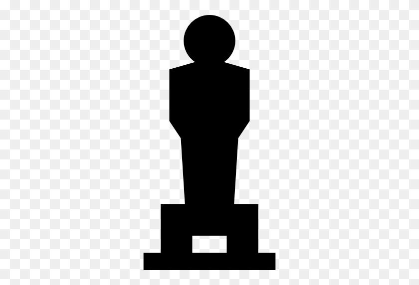 Oscar, Statuette Icon - Oscar Statue PNG