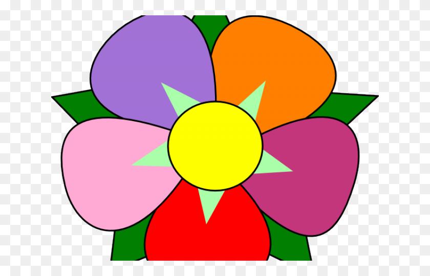 Stock Illustration - Frowning flower losing petals