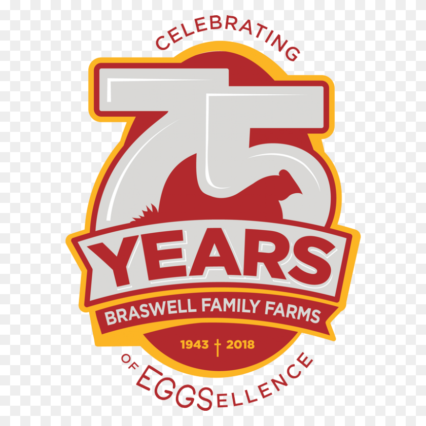Our Story We Are Eggs Braswell Family Farms - Anniversary PNG