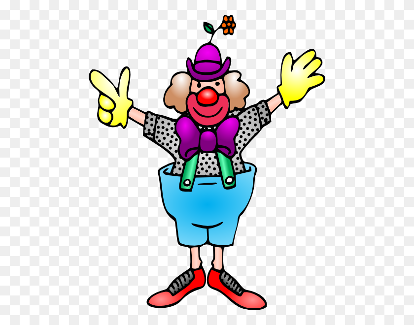 Over Clowns Clip Art Cliparts Clowns - Slide Clipart