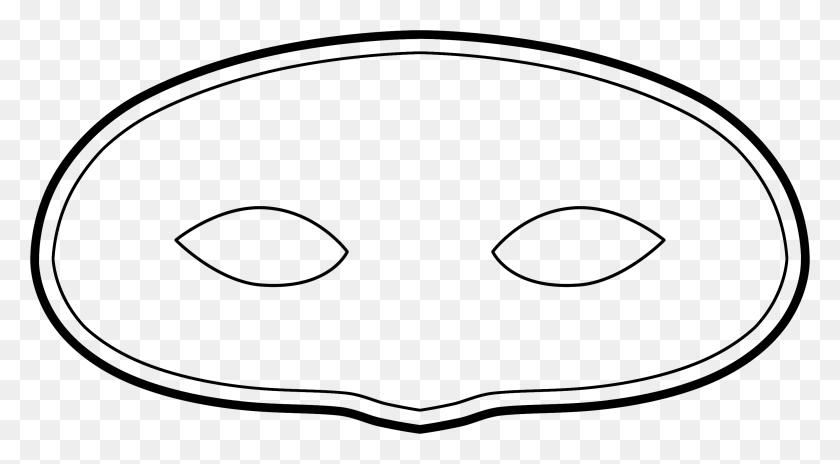Over Venetian Mask Template Cliparts Venetian Mask Template - Ski Mask Clipart