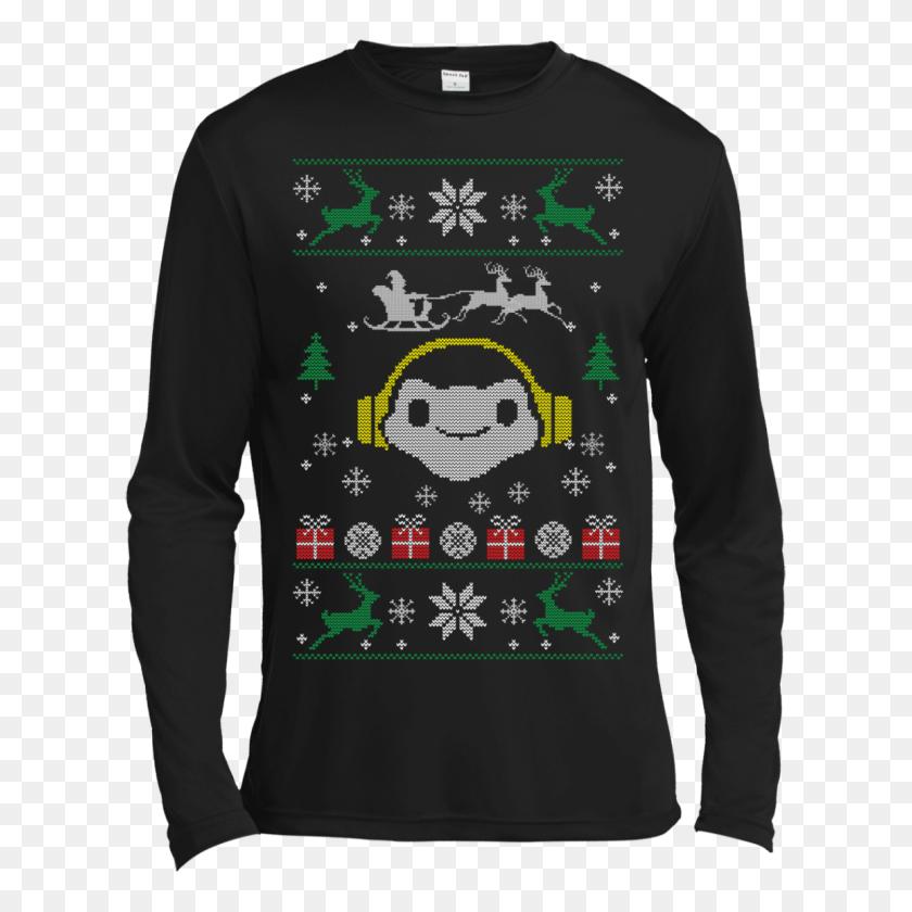 1155x1155 Overwatch Lucio Headphones Spray Ugly Sweater - Lucio PNG