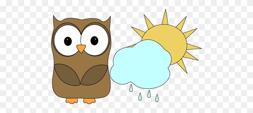 Owl Classroom Weather Helper Clip Art For Schedules - Weather Helper Clipart
