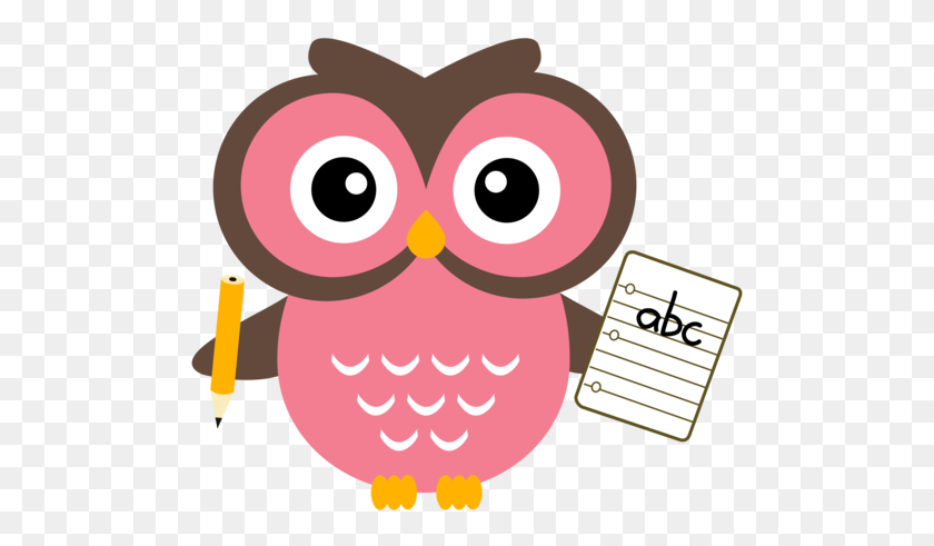 500x431 Owl Clipart Meeting - Meeting Reminder Clipart