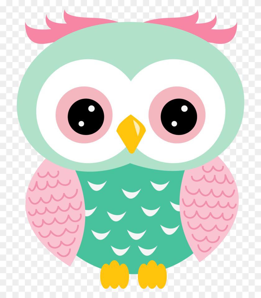 Owl Clipart Owl, Cute Owl - Pink Owl Clipart
