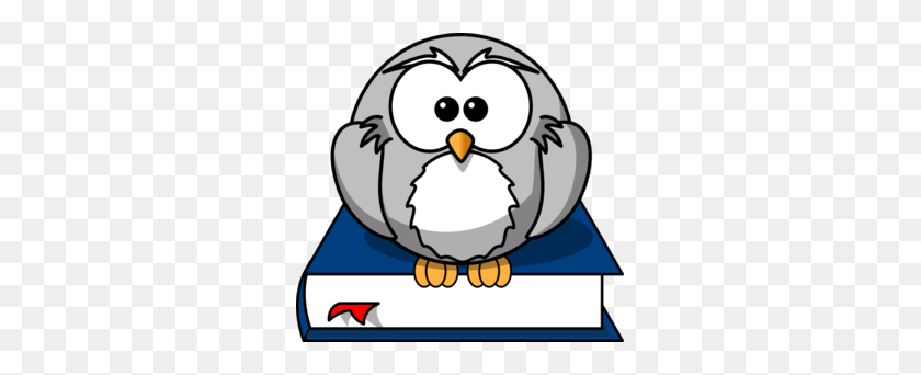 Owl Reading A Book Clipart - Reading Book Clip Art