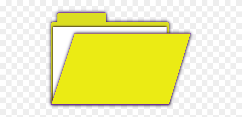 Owlita Folder Icon Free Clipart - Yellow Folder Clipart