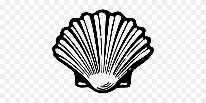 Oyster Shell Clip Art Shell - Shell Clipart
