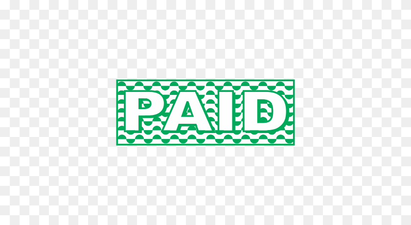 Paid Office Stamp - Paid Stamp PNG