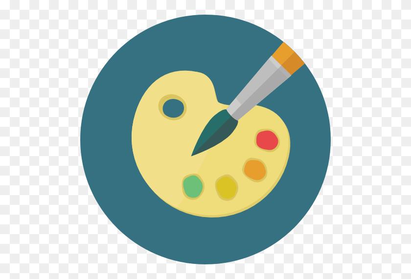 512x512 Paint Palette - Art Icon PNG