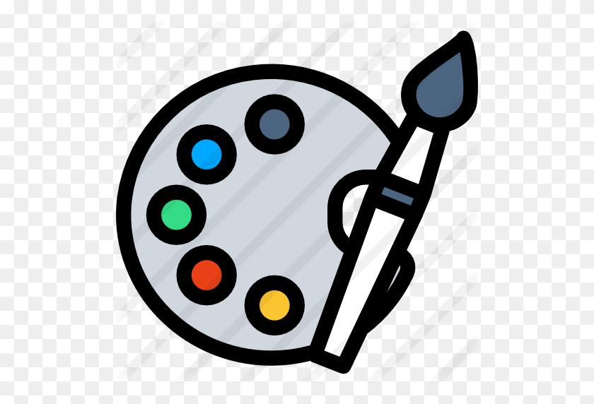 512x512 Paint Palette - Artist Palette PNG