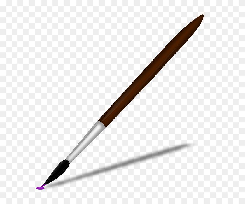 Paintbrush Paint Brush Clip Art - Pen Writing Clipart