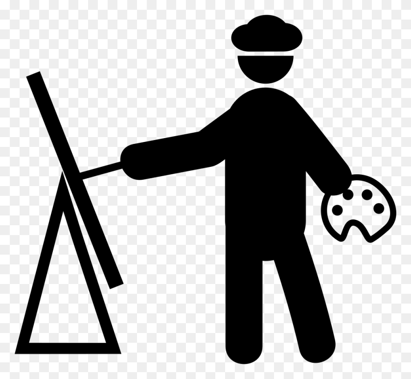 Painter Painting Png Icon Free Download - Painter PNG