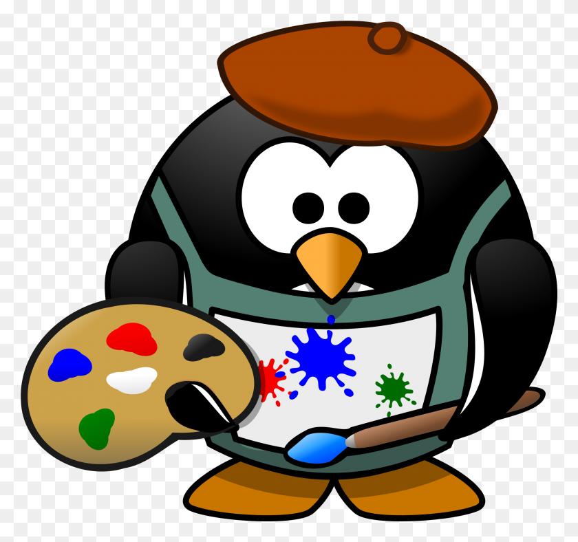 Painter Penguns Png - Painter PNG