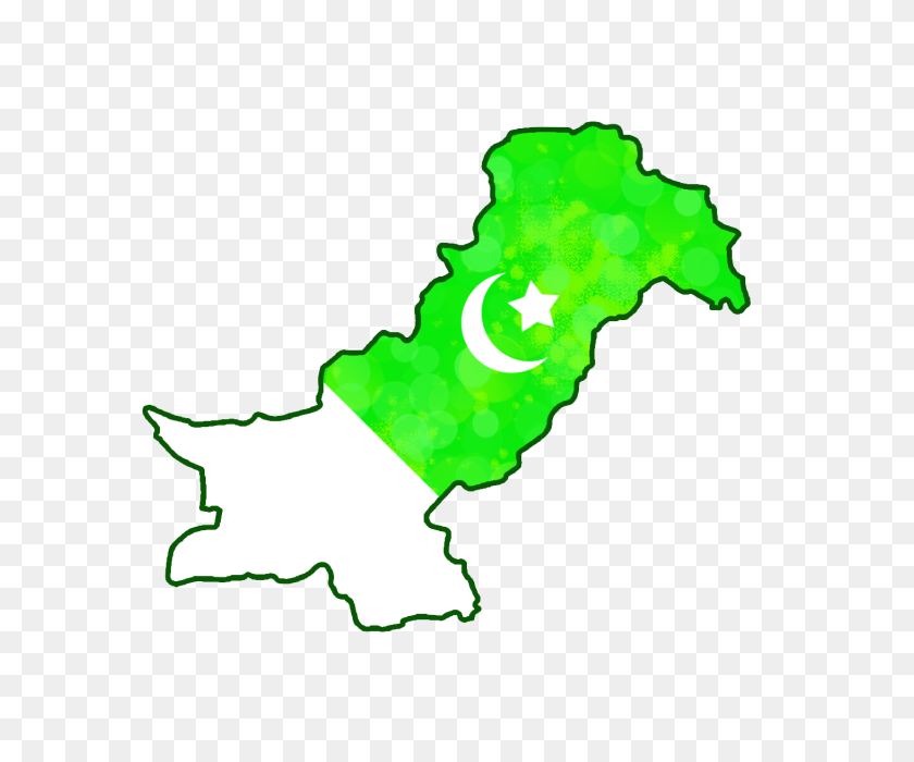 Pakistan Map Png With Pakistan Flag Png Art With Boekh - Pakistan Flag PNG