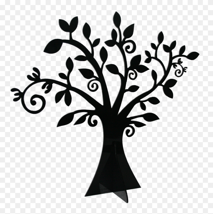 Palm Tree Clip Art Clipartion Bare Tree Clipart Black And White