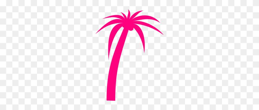 Palm Tree Clipart Pink Palm - Christmas Palm Tree Clip Art