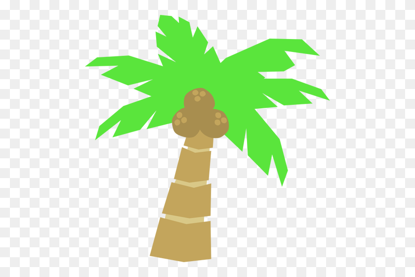Palm Tree Drawing - Tree Drawing PNG