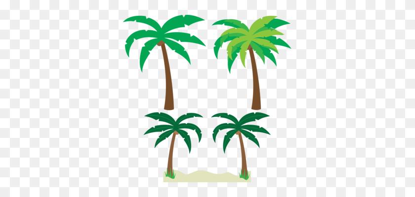 Palm Trees Coconut Fruit Download - Coconut Clipart