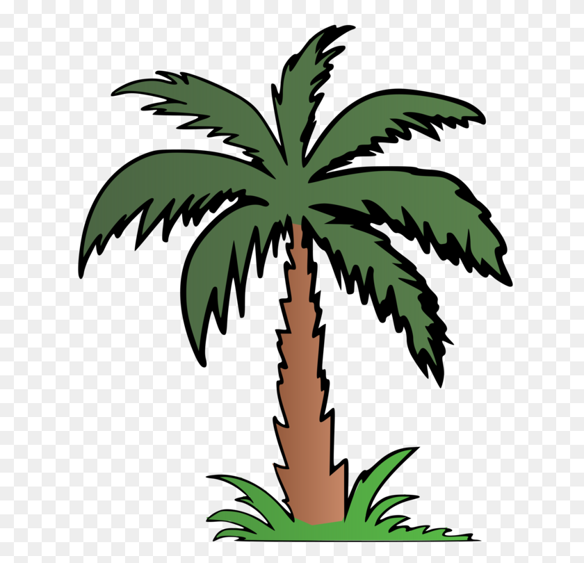 Palm Trees Computer Icons Diagram Information - Palm Tree Beach Clip Art