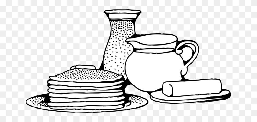 671x340 Pancake Breakfast Computer Icons Dish Food - Pancake Breakfast Clipart
