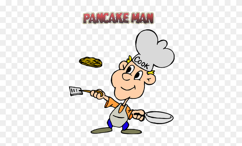 Pancake Clipart Pancake Man - Free Clipart Pancake Breakfast