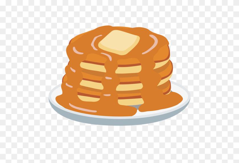 512x512 Pancakes Emoji - Free Clipart Pancake Breakfast