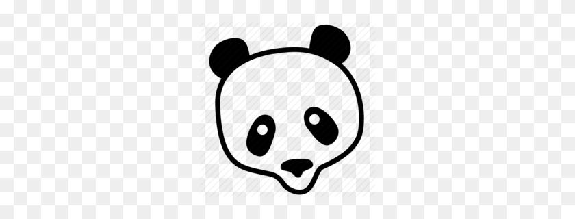 Panda Bear Clipart - Pandas PNG