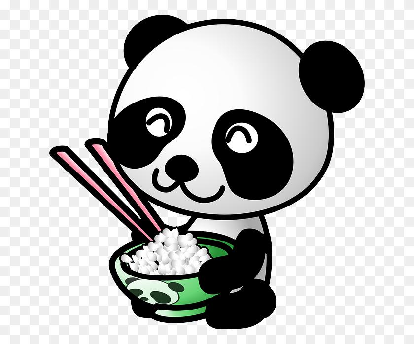 Panda China Cultures Panda, Cute Panda And Clip Art - Chinese Food Clipart