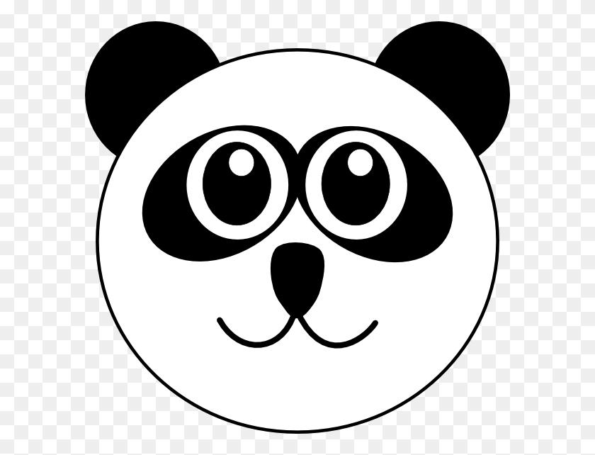Panda Clip Art - Panda Head Clipart