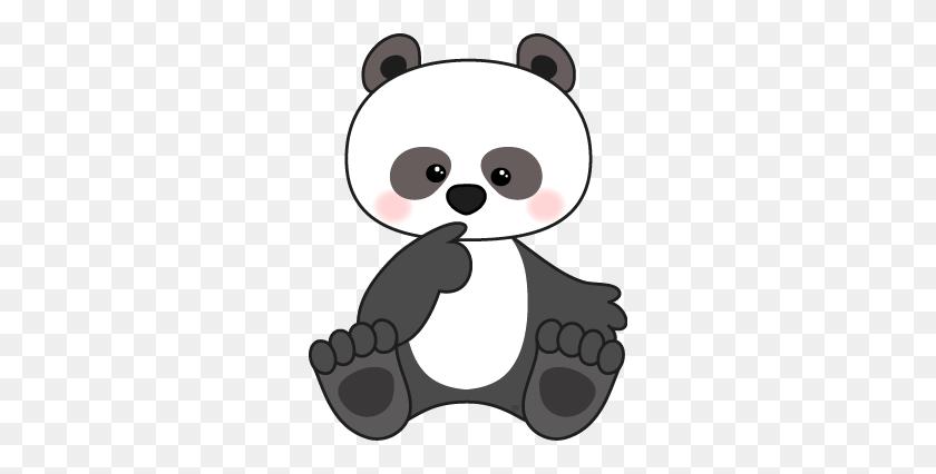 Panda Clipart, Panda Stockphoto, Scrapbooking, Scrapbook, Panda - Panda Bear Clipart