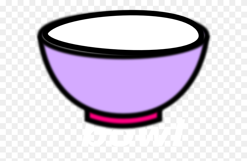Panda Clipart Rice Bowl - Rice Bowl Clipart