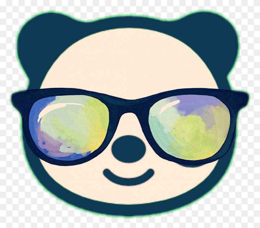 Panda Sunglasses Pandas - Lice Clipart