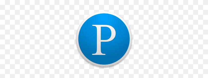 Pandora Icon Custom Round Yosemite Iconset Paulo Ruberto - Pandora PNG