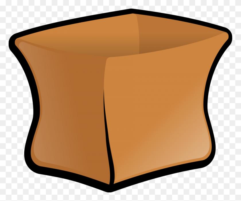 910x750 Paper Bag Paper Bag Gunny Sack Money Bag - Sack Clipart