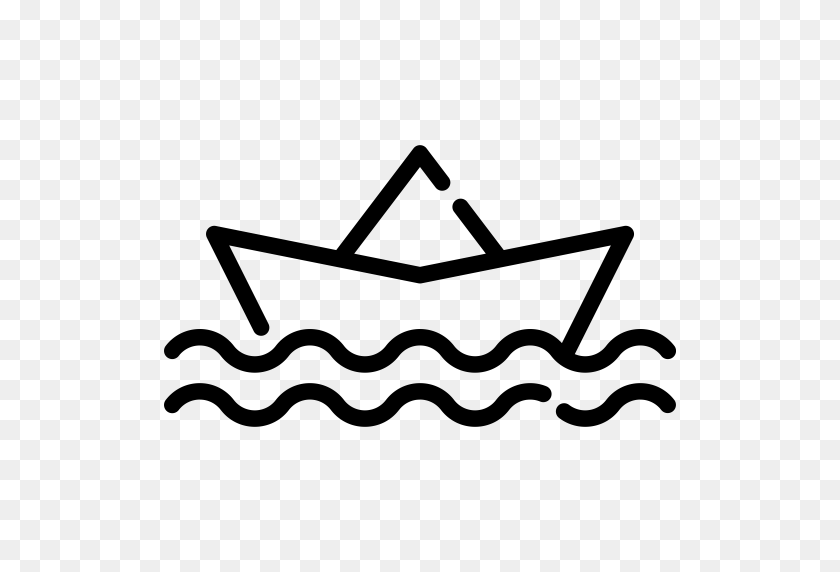 Paper Boat, Icon With Png And Vector Format For Free Unlimited - Paper Boat PNG