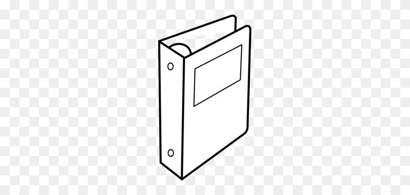 Paper Clip Binder Clip Ring Binder Download - Notebook Clipart